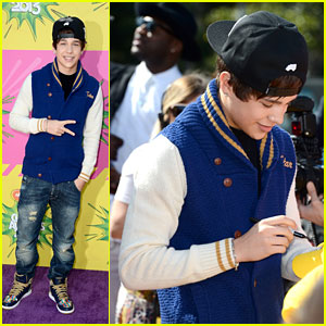Austin Mahone - Kids' Choice Awards 2013 Red Carpet