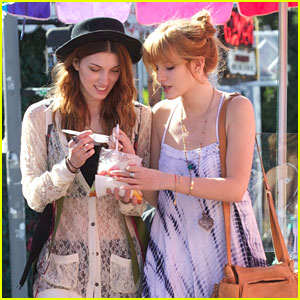 Bella Thorne: Shopping Day with Sister Dani