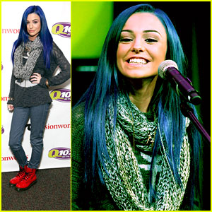 Cher Lloyd: Blue Hair at Q102 Concert