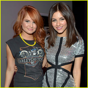 Debby Ryan: Happy 20th Birthday, Victoria Justice!