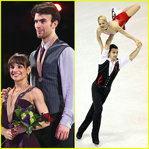 Meagan Duhamel &#038; Eric Radford Place 3rd at ISU World Skating Championships