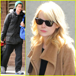 Emma Stone & Andrew Garfield: Traveling Couple!