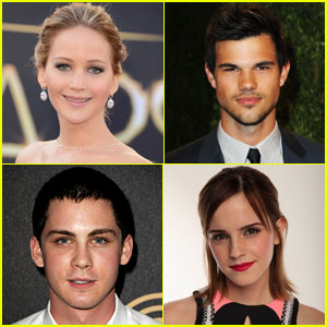 Jennifer Lawrence & Emma Watson: MTV Movie Awards 2013 Nominations!
