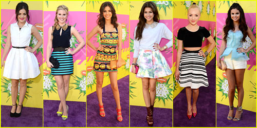 The 2013 Kids' Choice Awards winners have been announced and the