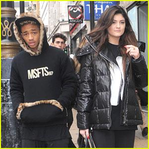 Kylie Jenner & Jaden Smith: Cafe Nero Lunch