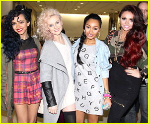 Little Mix: Baltimore Arrival