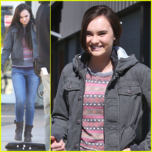 Madeline Carroll: 'Blink' Set i