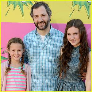 Maude & Iris Apatow - Kids� Choice Awards 2013 Red Carpet