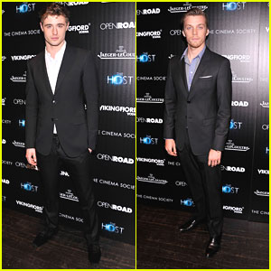 Jake Abel & Max Irons: 'The Host' NYC Screening
