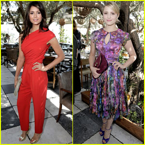 Nina Dobrev & Dianna Agron: THR's Most Powerful Stylists Lunch!
