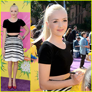 Peyton List - Kids' Choice Awards 2013 Red Carpet