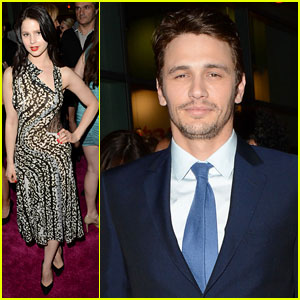 Rachel Korine &#038; James Franco: 'Spring Breakers' Premiere