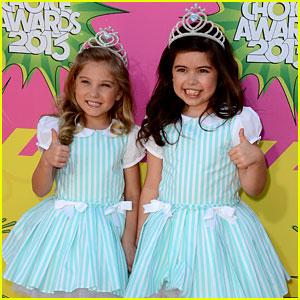 Sophia Grace & Rosie - Kids' Choice Awards 2013 Red Carpet