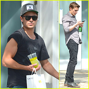 Zac Efron: 'Townies' Chat with Dave Franco!