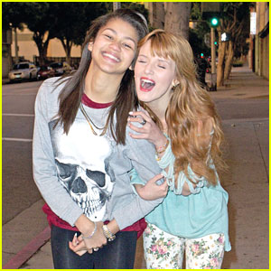 Zendaya: Dancing With The Stars Rehearsals with Bella Thorne