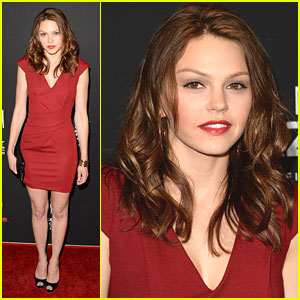 Aimee Teegarden: 'Call Me Crazy' Premiere Pretty
