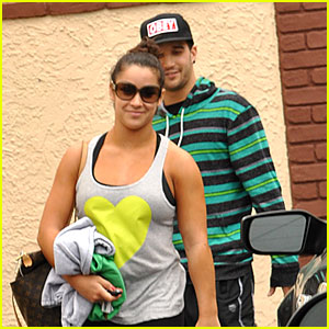 Aly Raisman & Mark Ballas: Easter Weekend 'Dancing' Practice
