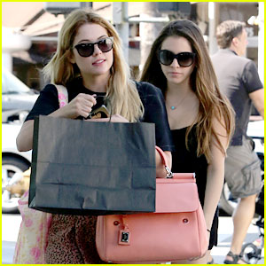 Ashley Benson: Shopping with Sister Shaylene