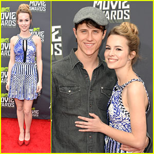 Bridgit Mendler -- MTV Movie Awards 2013