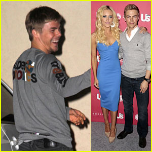 Derek Hough: Us Weekly Hot Hollywood Party!