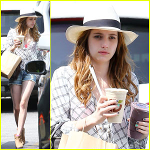 Emma Roberts: Last Day on 'Delirium'