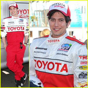 Jackson Rathbone: Practice Day for Toyota Pro/Celebrity Race