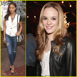 Jamie Chung &#038; Danielle Panabaker: Nylon Guys May Cover Celebration