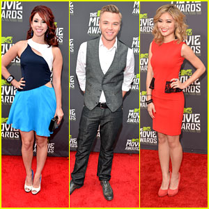 Jillian Rose Reed &#038; Brett Davern -- MTV Movie Awards 2013