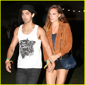 Joe Jonas &  Blanda Eggenschwiler: Coachella Couple
