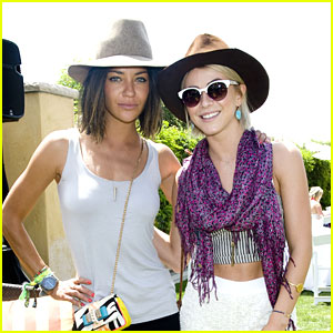 Julianne Hough & Jessica Szohr: Just Jared/Armani Exchange Music Festival Brunch