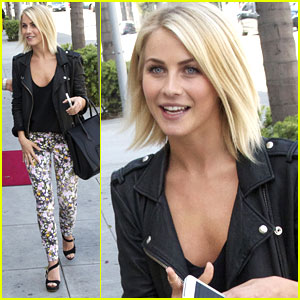 Julianne Hough: Ready for Spring with Printed Pants