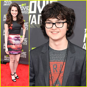 Kara Hayward & Jared Gilman -- MTV Movie Awards 2013