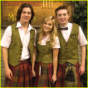 Leo Howard &#038; Olivia Holt are 'Kickin' It' in Kilts