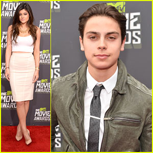 Jake T. Austin & Kylie Jenner -- MTV Movie Awards 2013