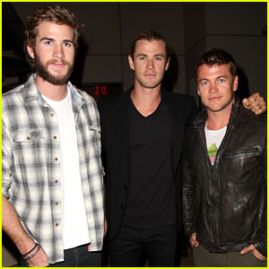 Liam Hemsworth: City Year Event with Chris &#038; Luke!