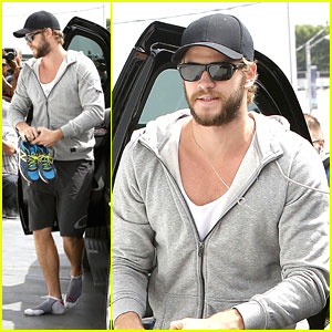 Liam Hemsworth: Gym Time