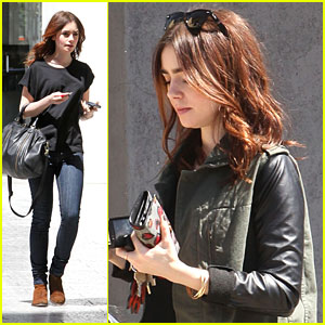 Lily Collins: 'Proud' To Play Clary Fray in 'Mortal Instruments'