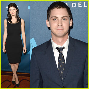 Logan Lerman &#038; Alexandra Daddario: GLAAD Media Awards 2013
