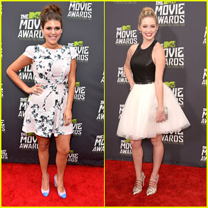 Greer Grammer & Molly Tarlov -- MTV Movie Awards 2013