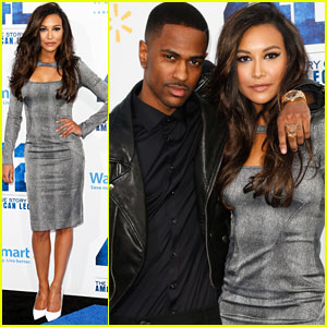 Naya Rivera: '42' Premiere With Big Sean!