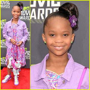 Quvenzhane Wallis -- MTV Movie Award 2013