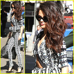 Selena Gomez: 'Good Morning America' Stop