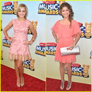 Sofia Reyes & Oana Gregory: Radio Disney Music Awards 2013
