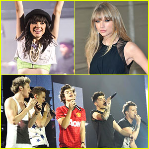 Taylor Swift & Carly Rae Jepsen: Billboard Music Award Nominees!