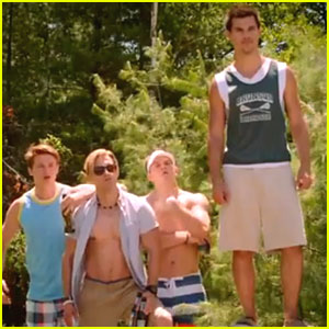 Taylor Lautner: 'Grown Ups 2' Trailer!