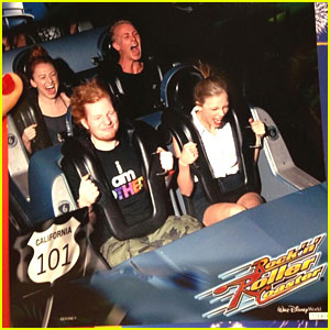 Taylor Swift: Disney World with Ed Sheeran!
