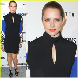 Teresa Palmer: British Fashion Council Event