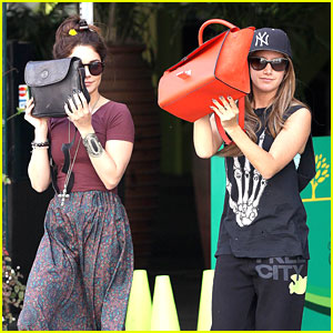 Vanessa Hudgens & Ashley Tisdale: Sunglasses Shoppers