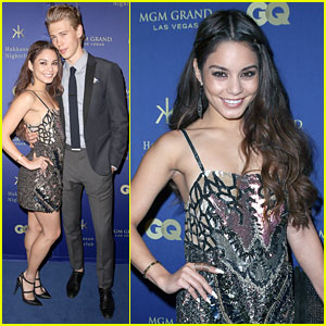 Vanessa Hudgens: Hakkasan Opening with Austin Butler!