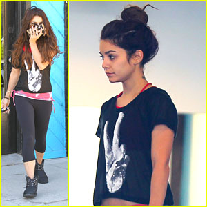 Vanessa Hudgens: Focused on Fitness